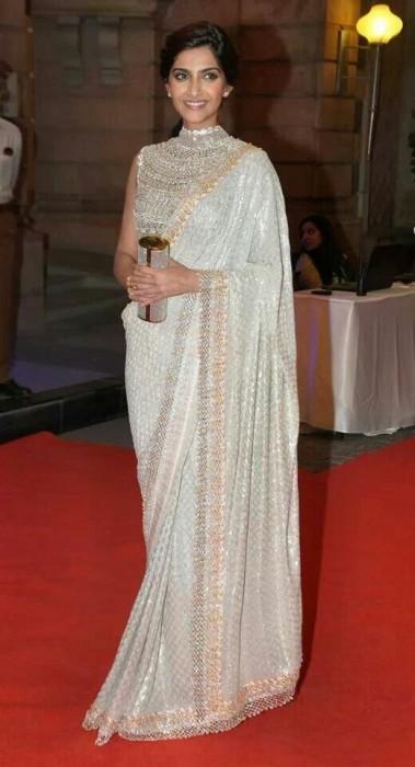 Sonam Kapoor saree