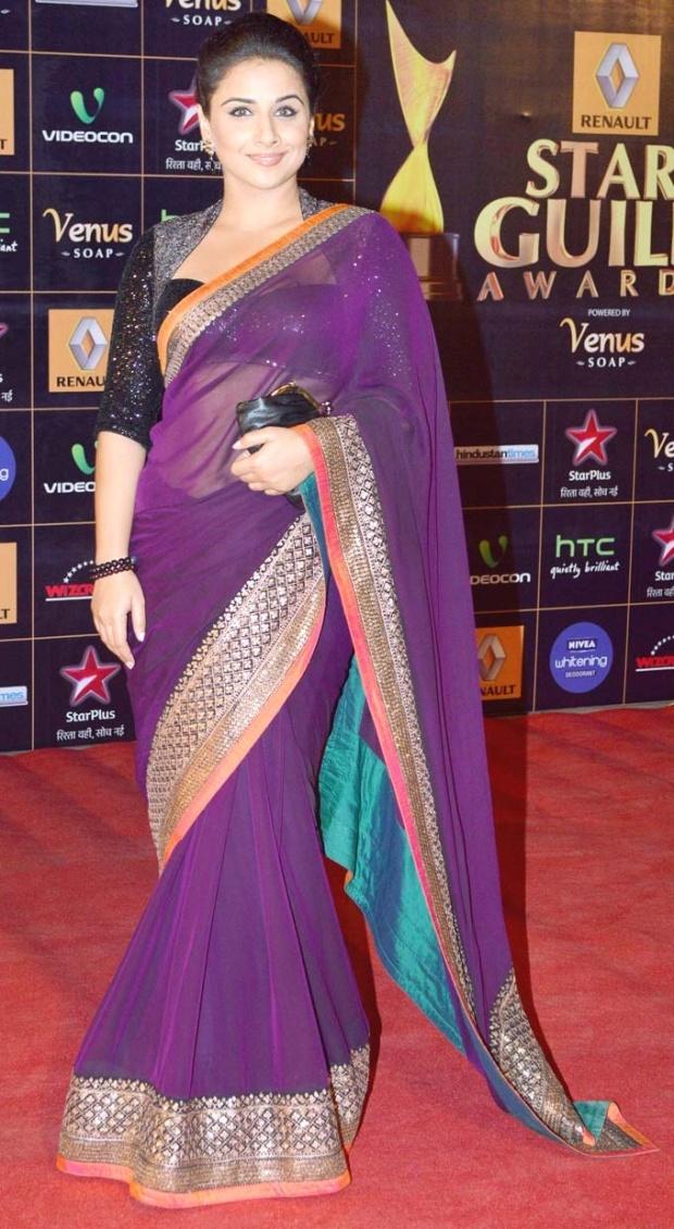 Vidya balan saree
