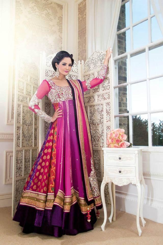 Celebrate Eid Ul Fitar In Splendid Anarkali Bhavish