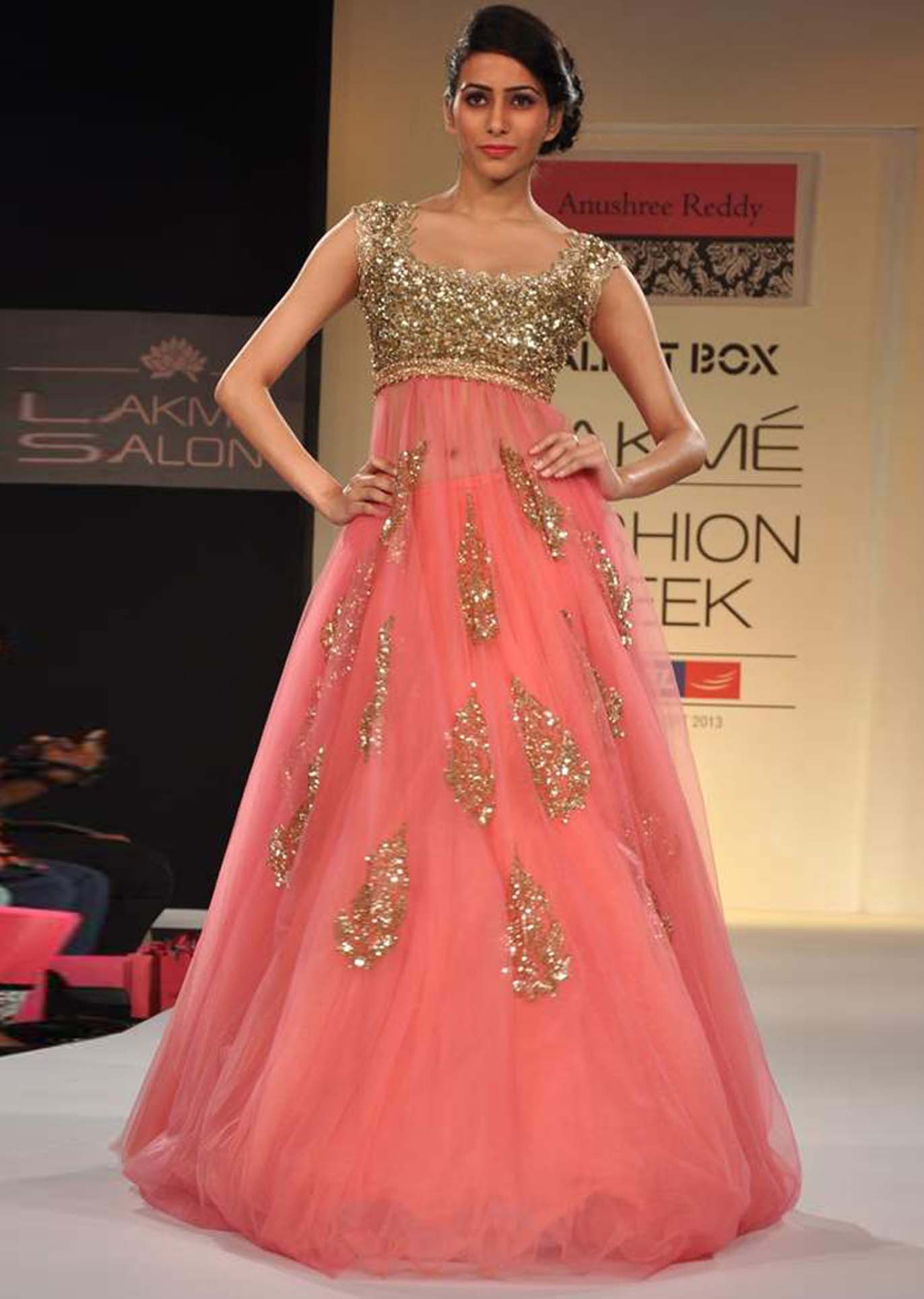 Latest fashion trends pastel is in bhavish for Trendy indian wedding dresses